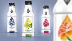 Ingredients Matter - Flavored water design concept. Designed for women 40+.