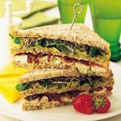 Avocado chicken club sandwich @ allrecipes.co.uk