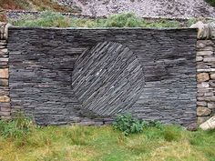 This takes dry stone stacking to a whole other level.  Simply Amazing!                                      created by Andy Goldsworthy