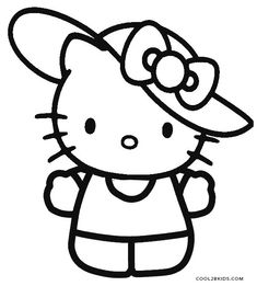 hello kitty coloring pages wallpapers for ipad   Lovely Hello Kitty Under the Umbrella Coloring page ...