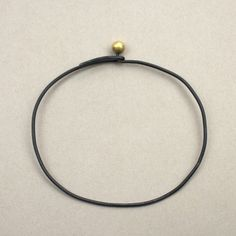 Ulno Bangle - Iron & Gold