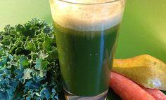 Green Carrot Ginger Juice