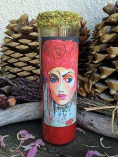 Rita's St. Rita 7 Day Hoodoo Ritual Candle   by RitaSpiritualGoods