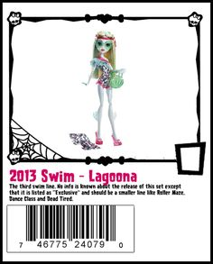 2013 swim lagoona - she was on sale (maybe still is? 25% off select dolls including some CAM and fashion)