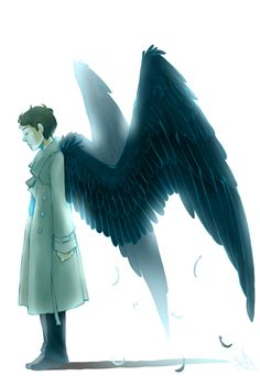 Castiel. Supernatural right? I've never seen the show but these wings are fantastic.