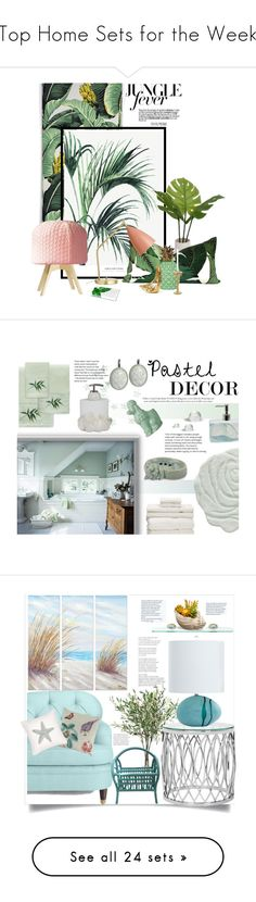 """""""Top Home Sets for the Week"""" by polyvore ❤ liked on Polyvore featuring interior, interiors, interior design, home, home decor, interior decorating, Gabor, Threshold, Gubi and Jonathan Adler"""