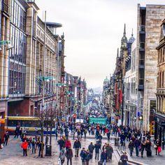 Buchanan Street Glasgow.