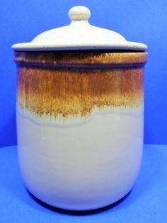 McCoy Pottery Canister Graystone Greystone 133 Crock Cookie Jar USA Vintage #McCoyPottery