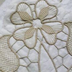 Crochet Motifs, Freeform Crochet, Irish Crochet, Crochet Lace, Crochet Stitches, Embroidery Techniques, Embroidery Stitches, Hand Embroidery, Needle Lace