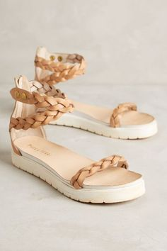 Alba Moda Arnica Flatforms - anthropologie.com  anthrofave Flat Sandals,  Shoes Sandals, 5f3f788a38