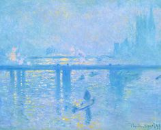 Claude Monet, «Charing Cross Bridge (2)»
