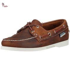 Sebago DOCKSIDES/CHOCOLATE B58058, Mocassins femme - Marron, 42.5 EU - Chaussures sebag (*Partner-Link)