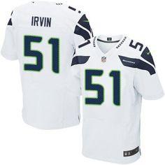 Marshawn Lynch Nike Men s C Patch Seattle Seahawks Road Jersey NFL White   24 Elite At abd35e489