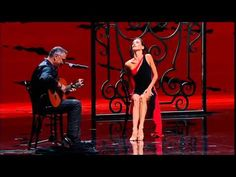 So beautiful, light, fragile.. Sonia is like a guitar string. Incredible, dance and sound are one here!   Sonia Rodriguez and Oscar Lopez 2012 Canada's Walk of Fame