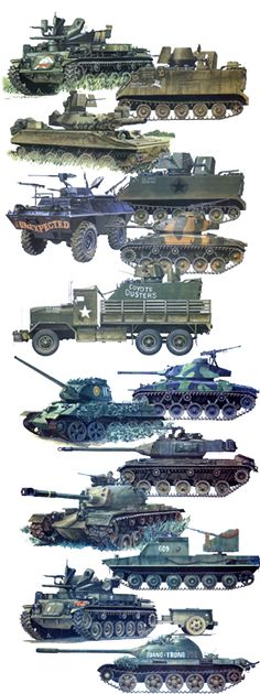 Vietnam War Military Vehicles
