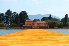 The Floating Piers - Lago D'Iseo - Italia