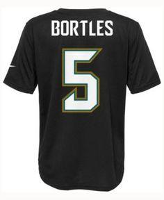 Nike Kids' Blake Bortles Jacksonville Jaguars Pride Player T-Shirt - Black XL