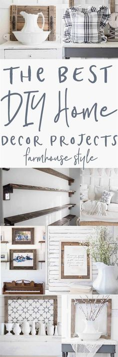Excellent Home Decor Projects – Farmhouse Style The post Home Decor Projects – Farmhouse Style… appeared first on 99 Decor .