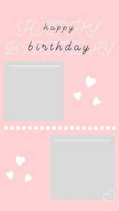 Happy Birthday Love Quotes, Happy Birthday Frame, Happy Birthday Posters, Happy Birthday Wallpaper, Birthday Wishes And Images, Birthday Frames, Birthday Cards, Birthday Post Instagram, Birthday Captions Instagram