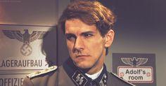 Mat Baynton as Hitler's soldier.