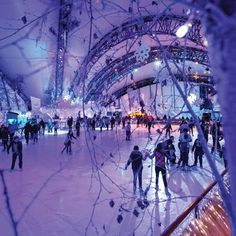 We're feeling rather #festive here at Gorgeous HQ. Do you have a local ice-skating rink?
