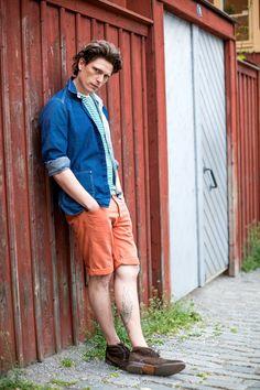 Pomarańczowe szorty? Tak! Prepping, Style, Fashion, Swag, Moda, Fashion Styles, Fashion Illustrations, Outfits, Prep Life