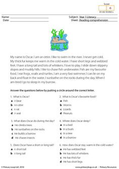 Students read the text and answer the multiple choice questions.