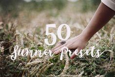 Summer Lightroom Presets by Willa_Willa