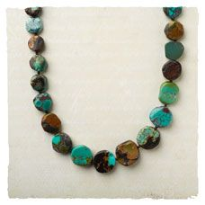 Tumbled Turquoise Necklace