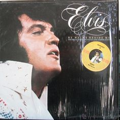 ELVIS HE WALKS BESIDE ME Favourite Songs Of Faith And Inspiration / LP 33  RPM / USA