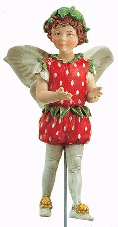 The Strawberry Flower Fairy