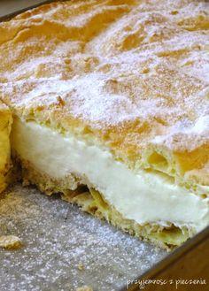 karpatka, home carp, carpathian pudding, scalded cake - Onnair Food Sweet