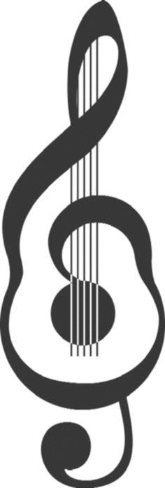 guitar music tatoo