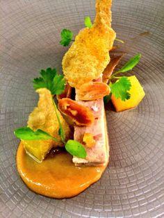 @janbretschneide - Classic Rabbit, peanut and pineapple on 5 course tasting menu #FeedYourEyes Sept/Oct