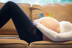 Baby BOY birth announcement.