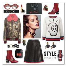 """Style Insider"" by zabead ❤ liked on Polyvore featuring Gucci"