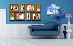 interior wallpapers living sofa furniture polyptych vases dolphins faces flowers decoration backgrounds desktop pc pixelstalk rooms diwan simple luxury decorating