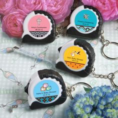Baby Personalized Expressions Collection Key Chain/Measuring Tape Favors