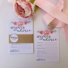 Pink Peonies Theme for the Bride to be on the eve of her Wedding Day. Perfect for her Bridal Shower, Kitchen Tea or Bachelorette Party.  A beautiful and elegant keepsake for her to keep and remember her special day.