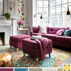 Living Room Design Color Palette