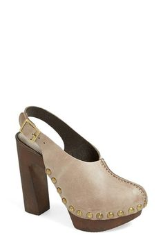 Charles David 'Picchio' Slingback Clog (Women) available at #Nordstrom