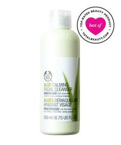 Best Face Cleanser No. 10: The Body Shop Aloe Calming Facial Cleanser, $14.50