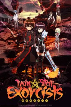 "Crunchyroll - Crunchyroll to Stream ""Twin Star Exorcists"" and ""Anne-Happy"" for Spring 2016 Anime Season"