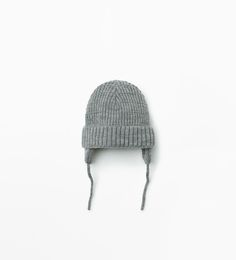 Knitted hat-MUST HAVES-Baby boy | 3 months - 3 years-KIDS | ZARA United States