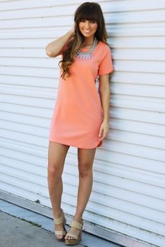 Simple As That Dress: Cantaloupe