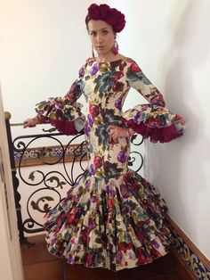 Mexican Style Dresses, Flamenco Dresses, Flamingo Dress, Special Dresses, Malaga, Culture, Gowns, Costumes, Womens Fashion