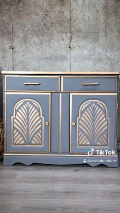 Diy Furniture Renovation, Diy Furniture Decor, Funky Painted Furniture, Furniture Fix, Chalk Paint Furniture, Refurbished Furniture, Upcycled Furniture, Furniture Makeover, Diy Crafts For Home Decor
