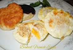Melissa's Southern Style Kitchen: Baked French Eggs
