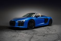 "Mein @Behance-Projekt: ""Audi R8 V10 plus Spyder - arablue matte effect"" https://www.behance.net/gallery/49127145/Audi-R8-V10-plus-Spyder-arablue-matte-effect"