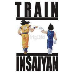 Train Insaiyan - Goku&Vegeta by irig0ld